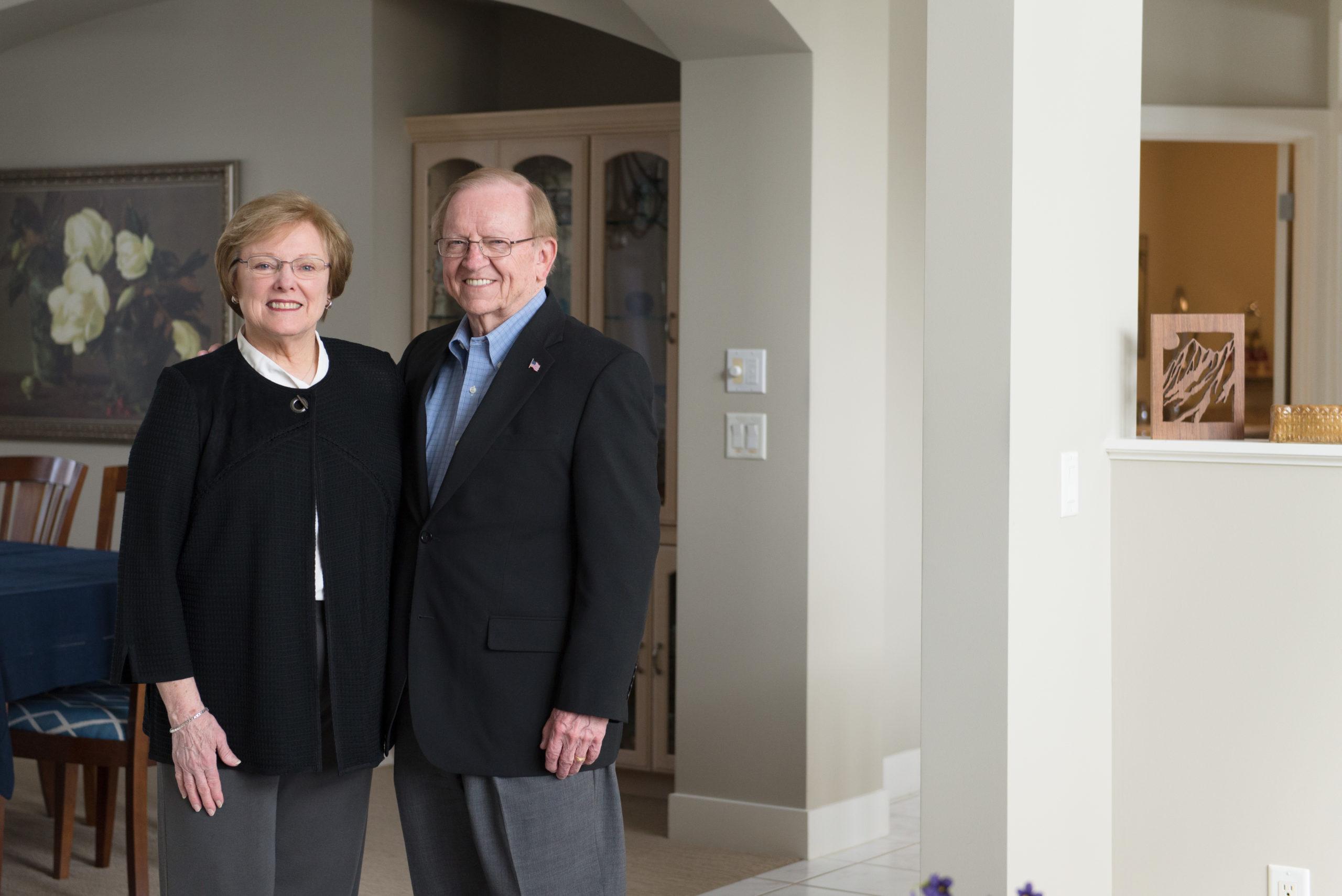 Bill and Judy Johnson