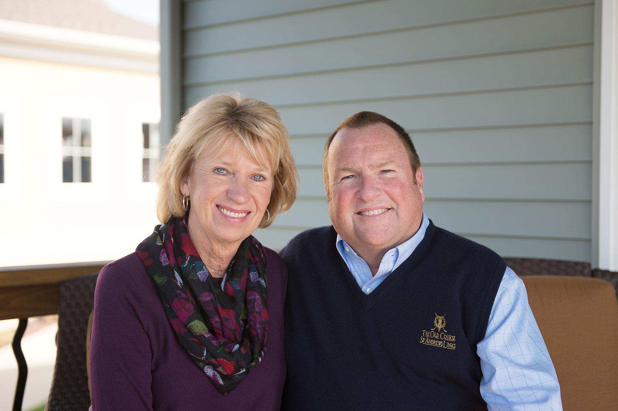 Brian and Diane Karsten